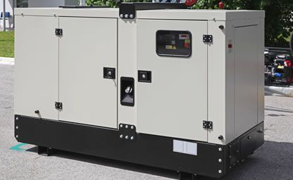 standby diesel generators London