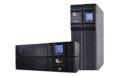 10 KVA 19 inch rack tower mount UPS